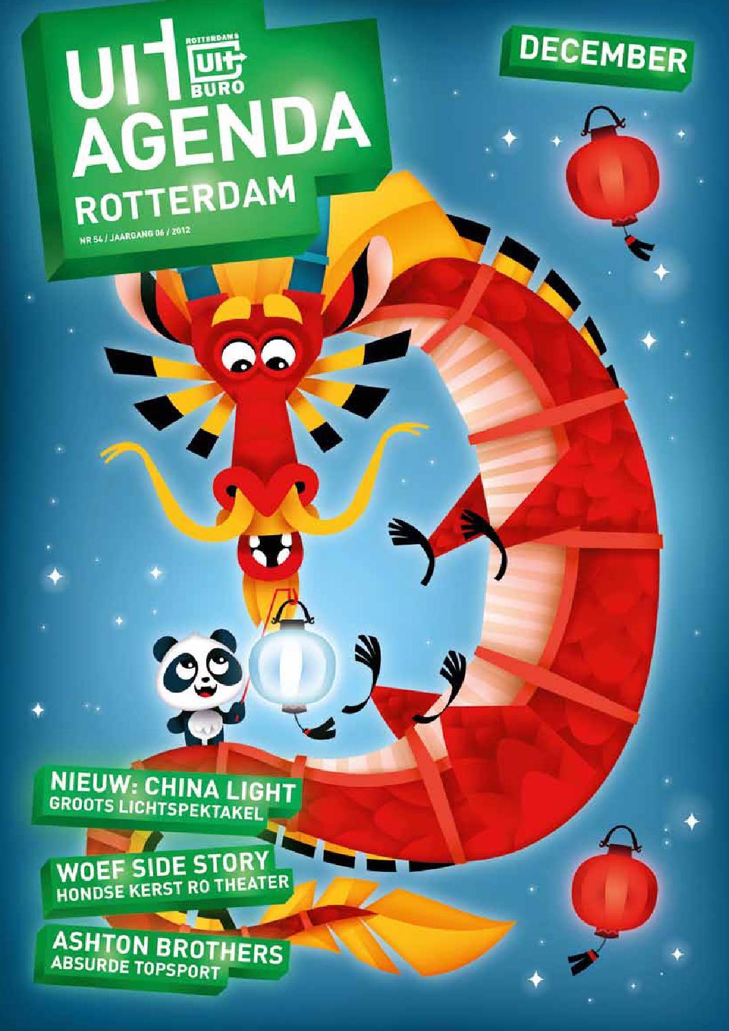 Uitagenda rotterdam december 2012 by rotterdam festivals for Uit agenda rotterdam