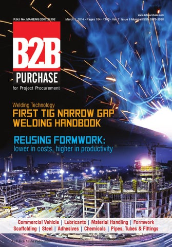 B2B Purchase March 2015 by I-Tech Media Pvt Ltd - issuu