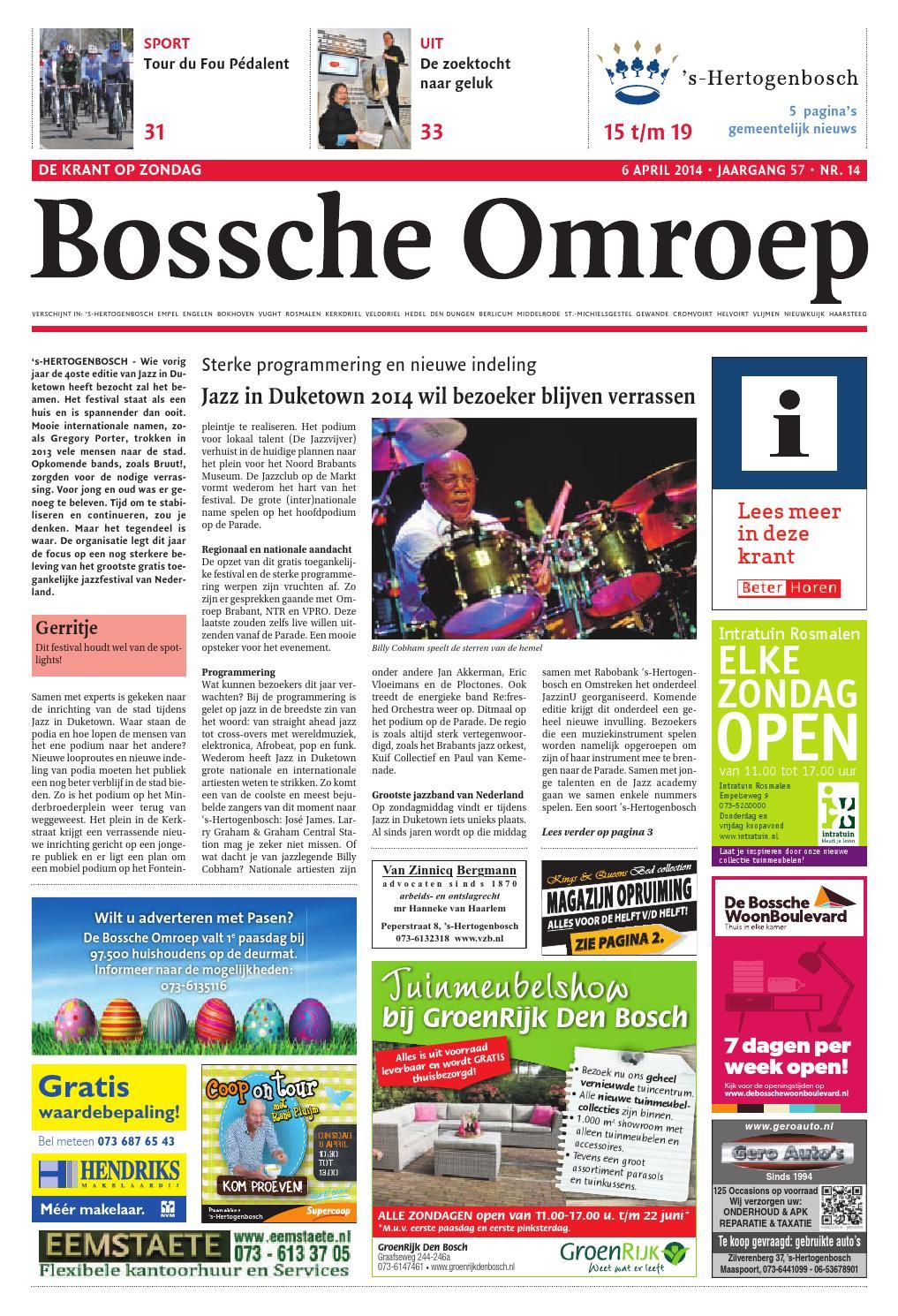 Bo Week 14 2014 By De Persgroep Nederland Issuu