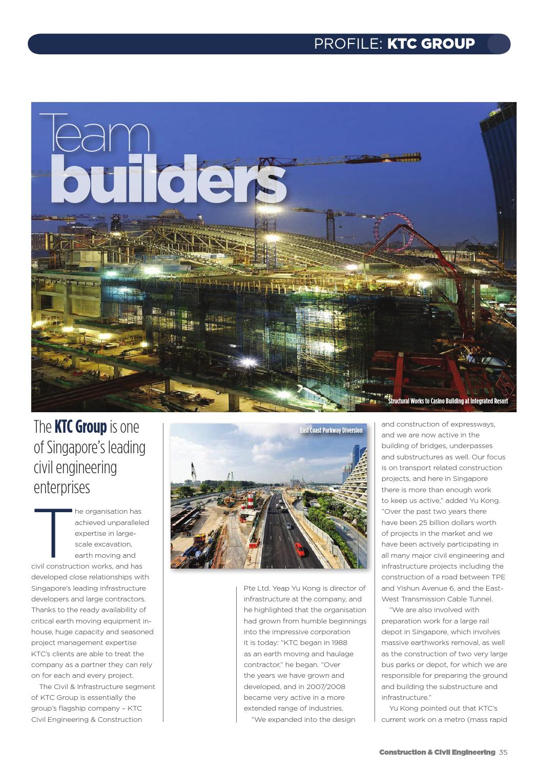 Construction and Civil Engineering Issue 104 Early edition