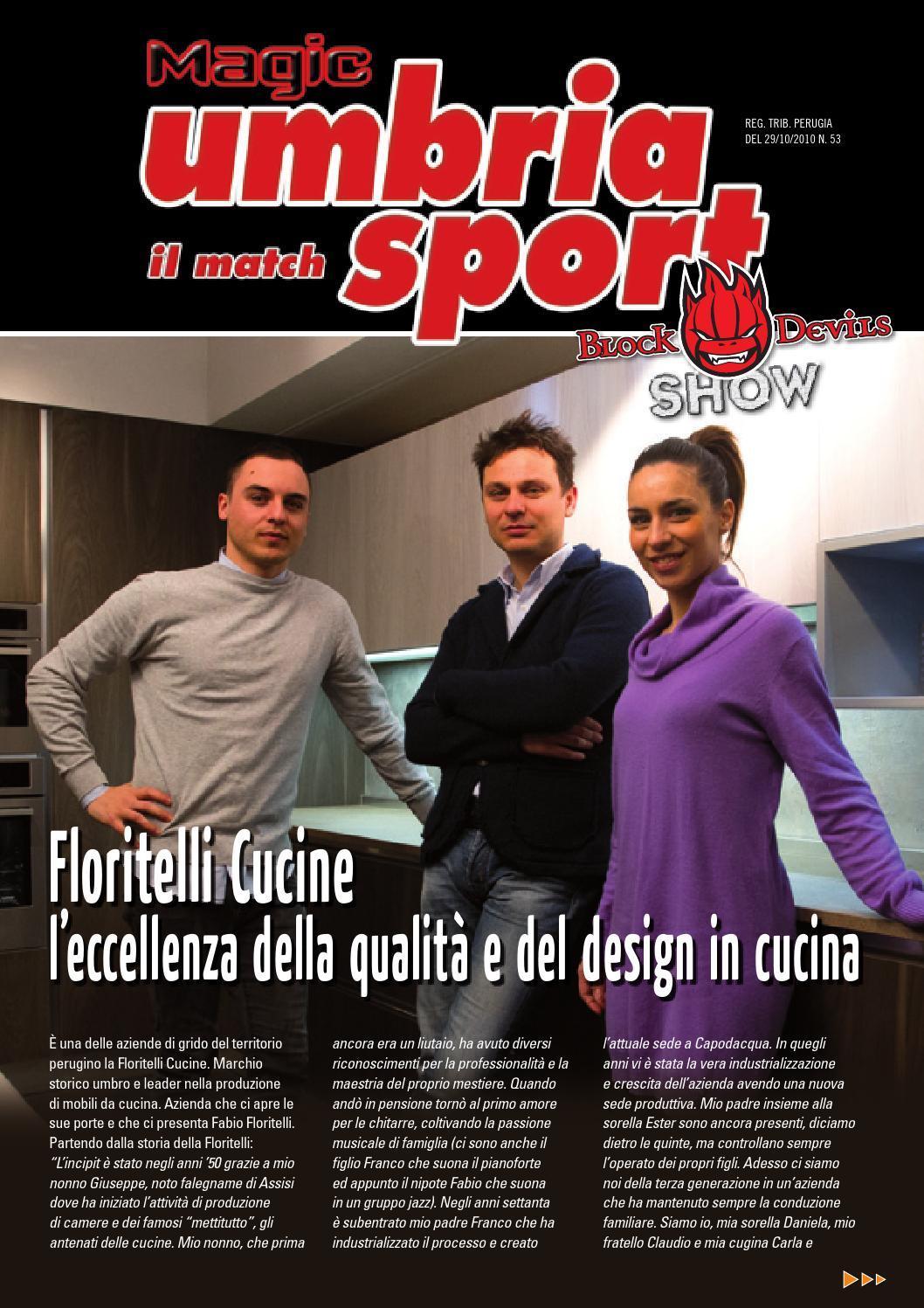 Magic umbria sport il match 13 by sir safety perugia issuu - Floritelli cucine perugia ...