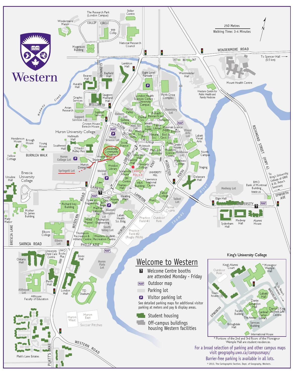 ursuline college campus map Sona 2014 Map By Paul Mallet Issuu