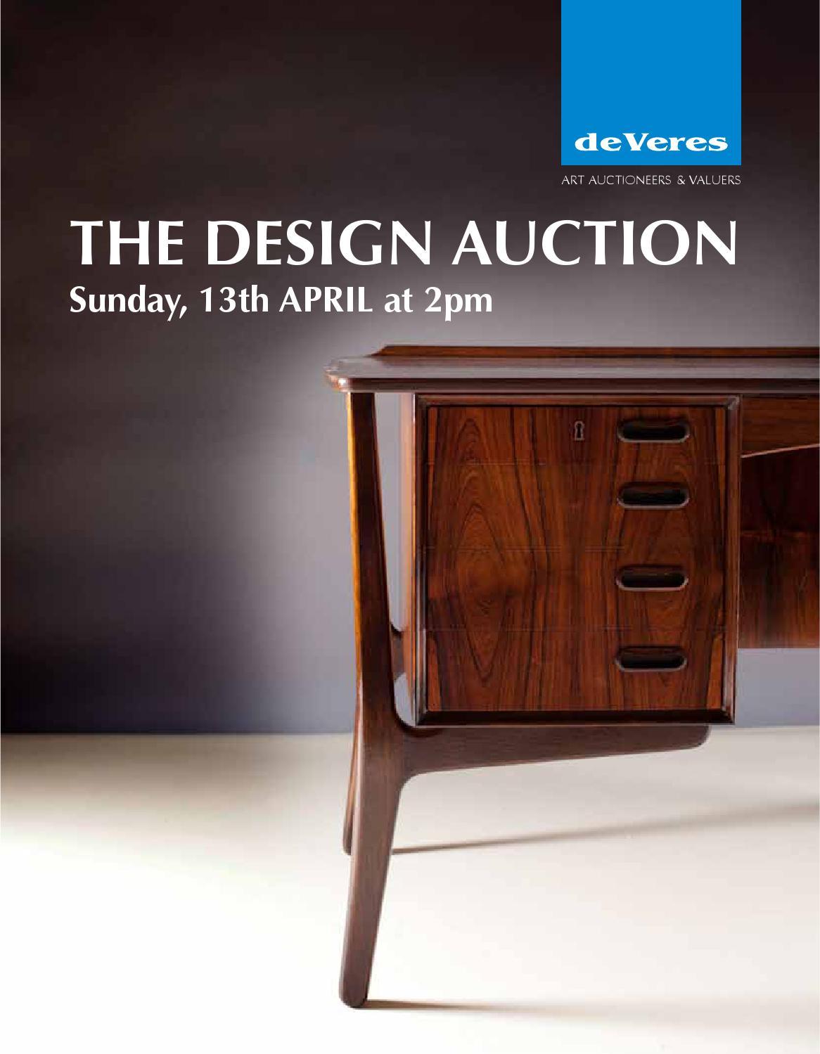 prezzi incredibili professionista di vendita caldo negozio online The Design Auction by de Veres Art Auctions - issuu