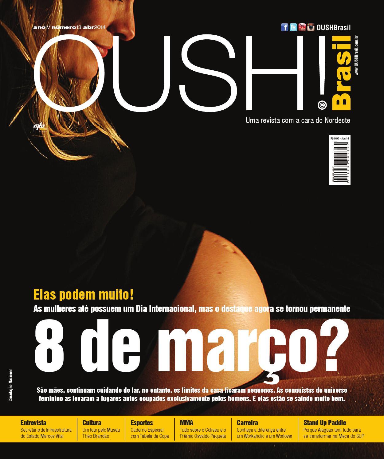 ff1e70f847c7b Brasil - Capa Especial Mulheres - Ano IV - Edição 13 by Revista OUSH Brasil  - issuu
