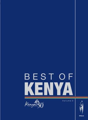 BEST OF KENYA Volume 3 by Sven Boermeester issuu
