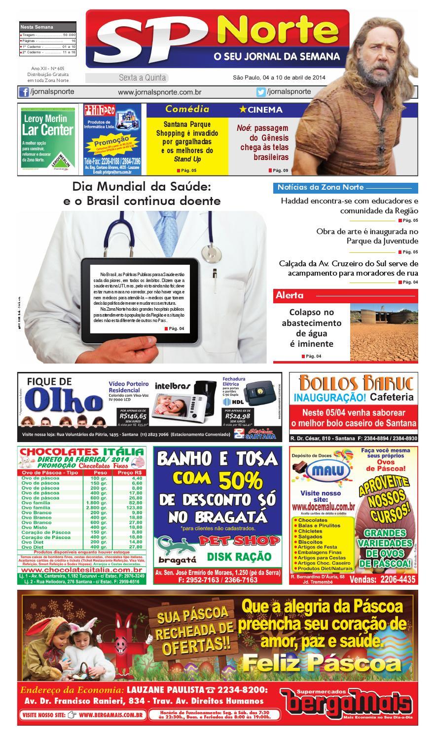 e24581664c32f Jornal SP Norte 605 by Grupo SP de jornais - issuu