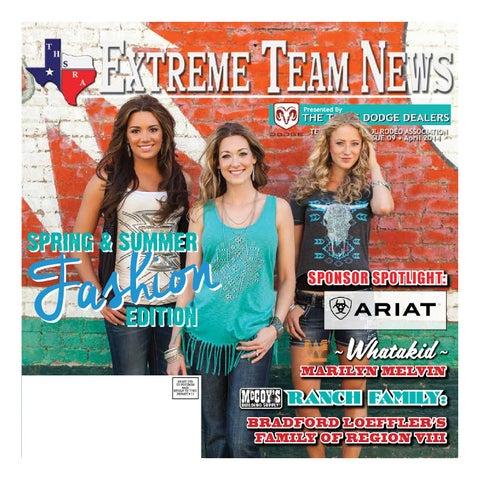 Texas High School Rodeo Extreme Team News April