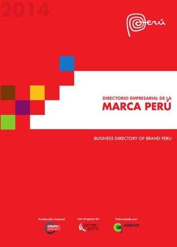 9af4f934 Directorio Marca Peru 2014 by Grupo Imagen SAC - issuu