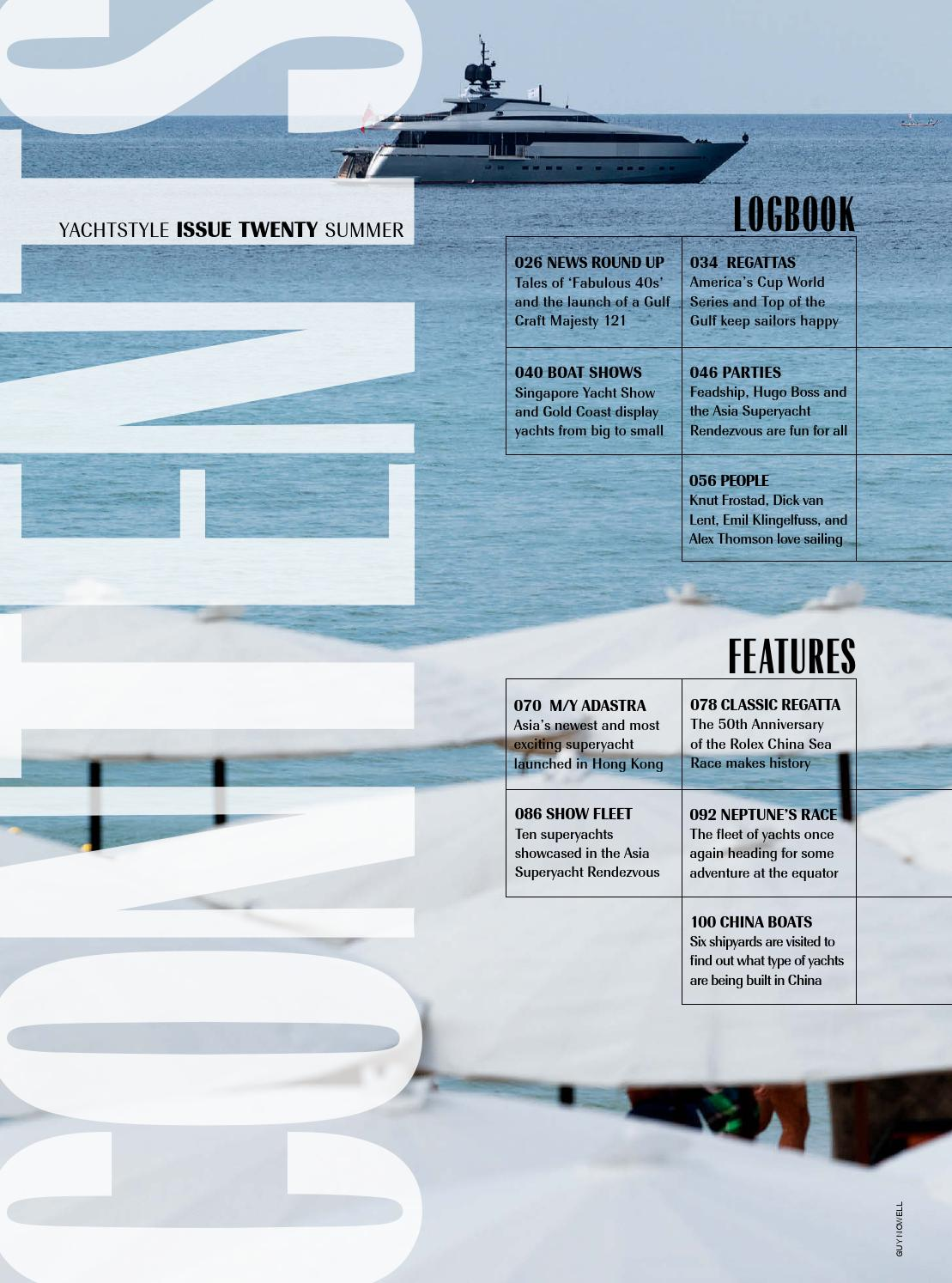 Yachtstyle Issue 20 By Yachtstyle Issuu
