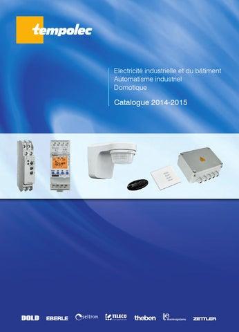 Tempolec electricite domotique fr by TEMPOLEC - issuu fdb728b2f44e