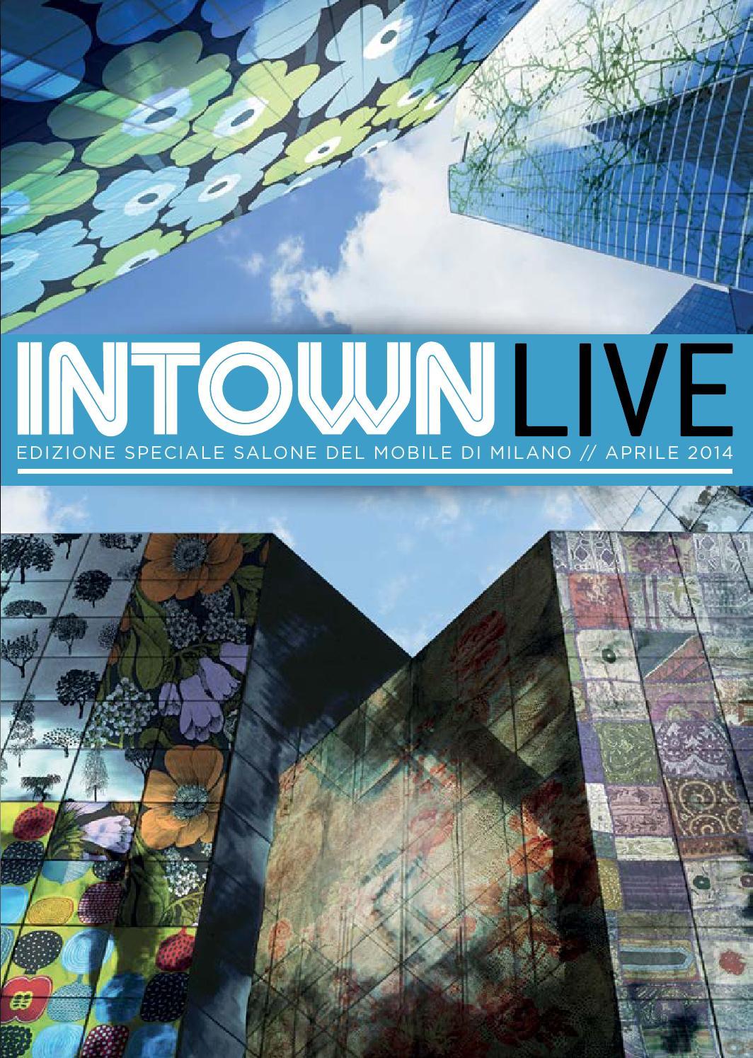 intown magazine edizione speciale salone del mobile by