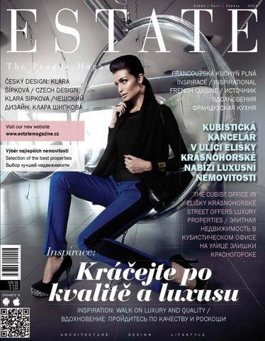 88c2e693e31 Estate The Prague Magazine 4 2014 by Conventia Events s.r.o. - issuu