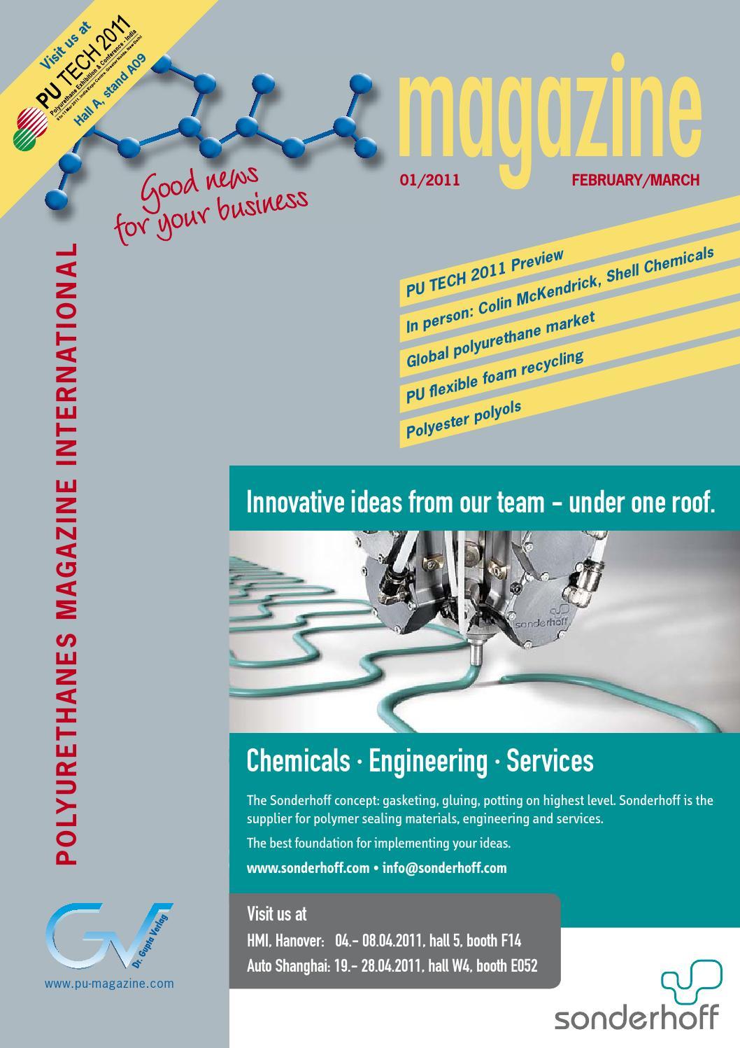 PU magazine international 1/2011 by Dr  Gupta Verlag - issuu
