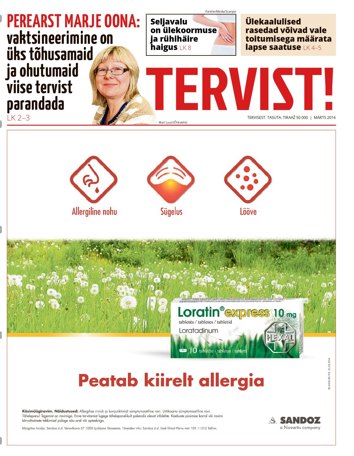 cc228c38b9d Tervist! märts '14 by Celsius Healthcare - issuu