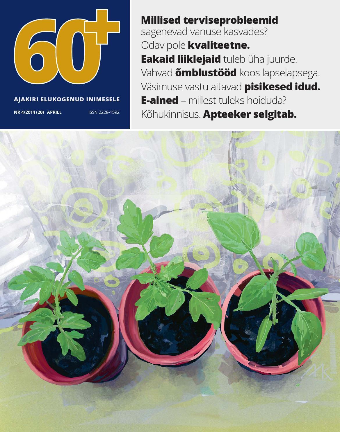 09b3e6a738b 60pluss nr 4/2014 by AS Eesti Meedia - issuu