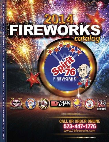 3dcd1216c7a5e7 2014 Fireworks Catalog. Features over 500 products from 76 ProLine ...