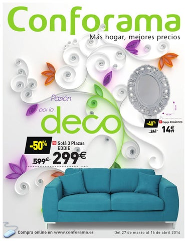 Conforama 16 abril by losdescuentos issuu for Conforama espejo joyero