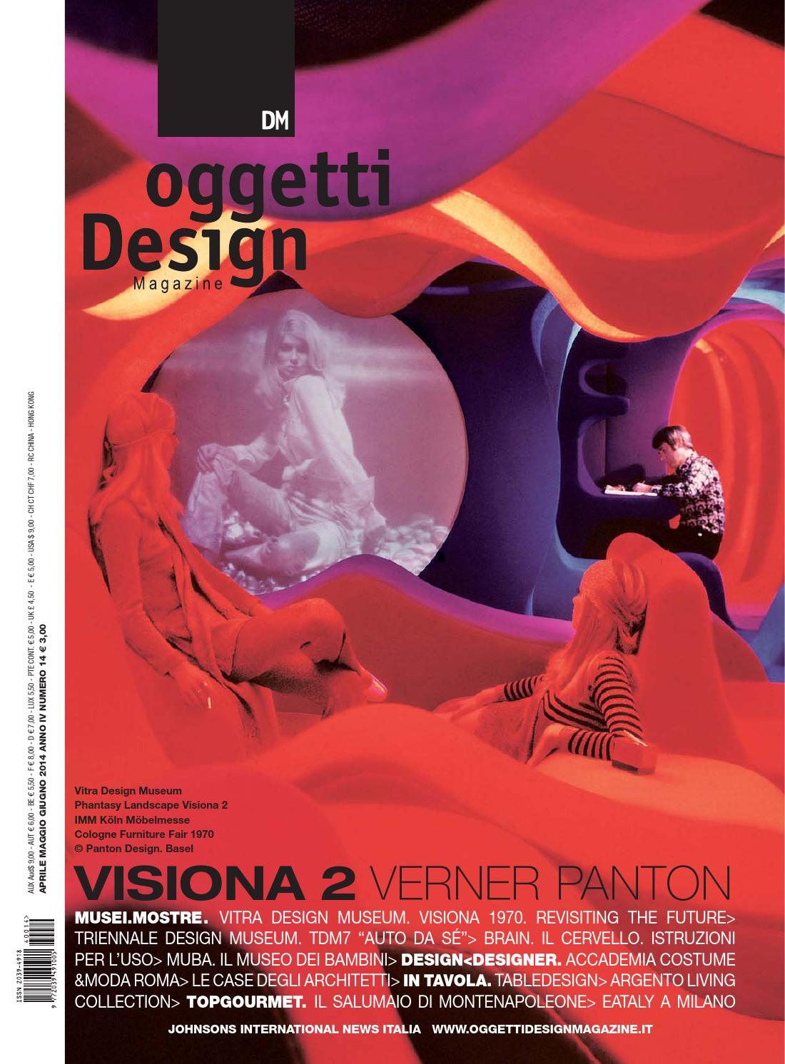 Dm oggetti design magazine by johnson web for Oggetti per architetti