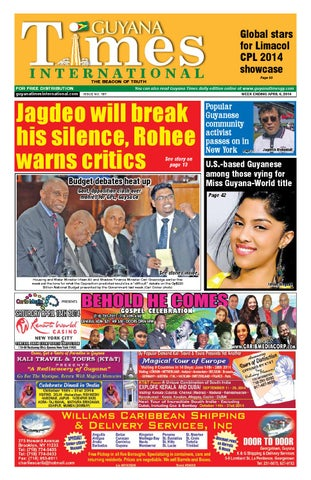 Guyana Times International by Gytimes - issuu 7e7c1d19052f