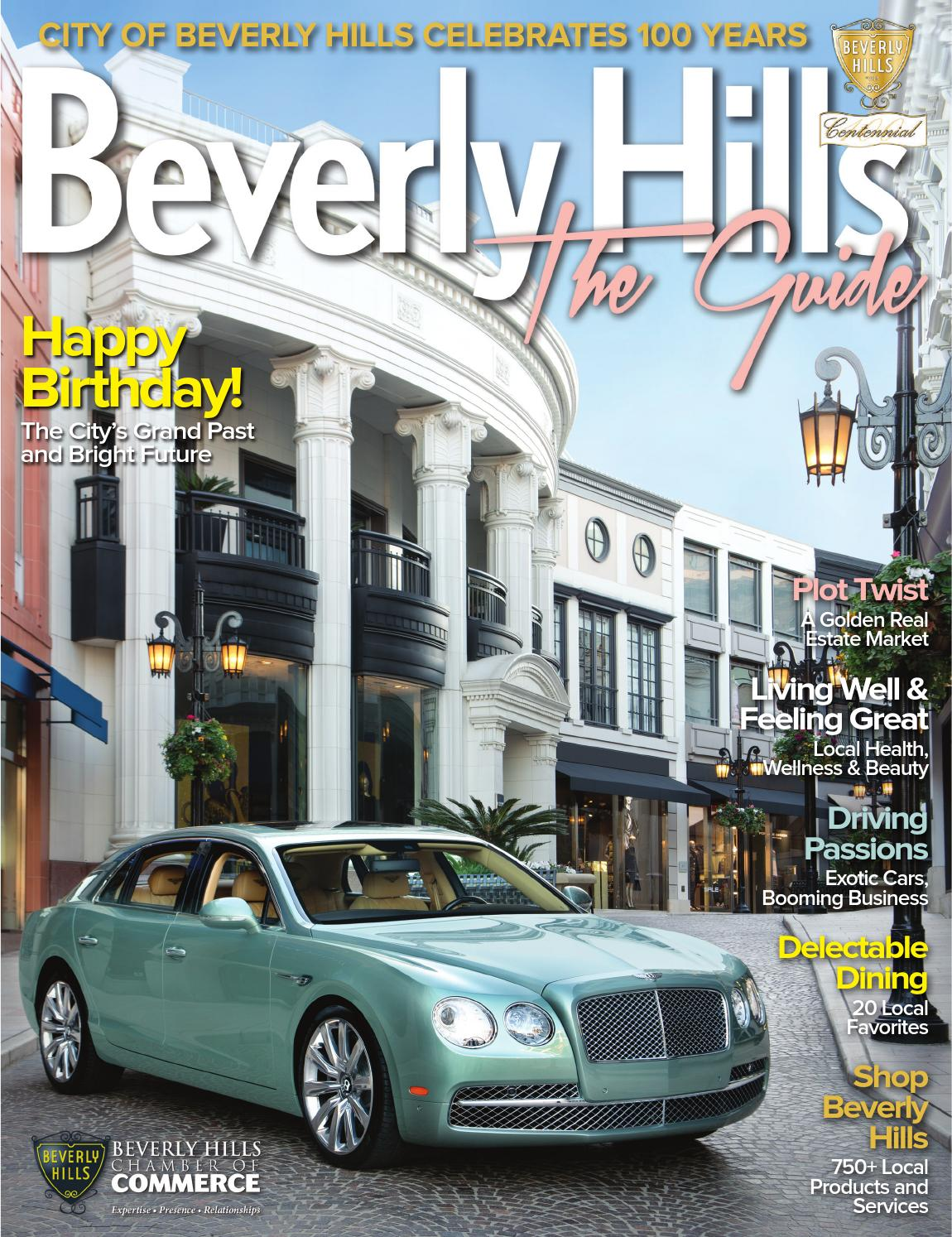 Beverly Hills The Guide - annual business directory and community guide by  Chamber Marketing Partners, Inc. - issuu