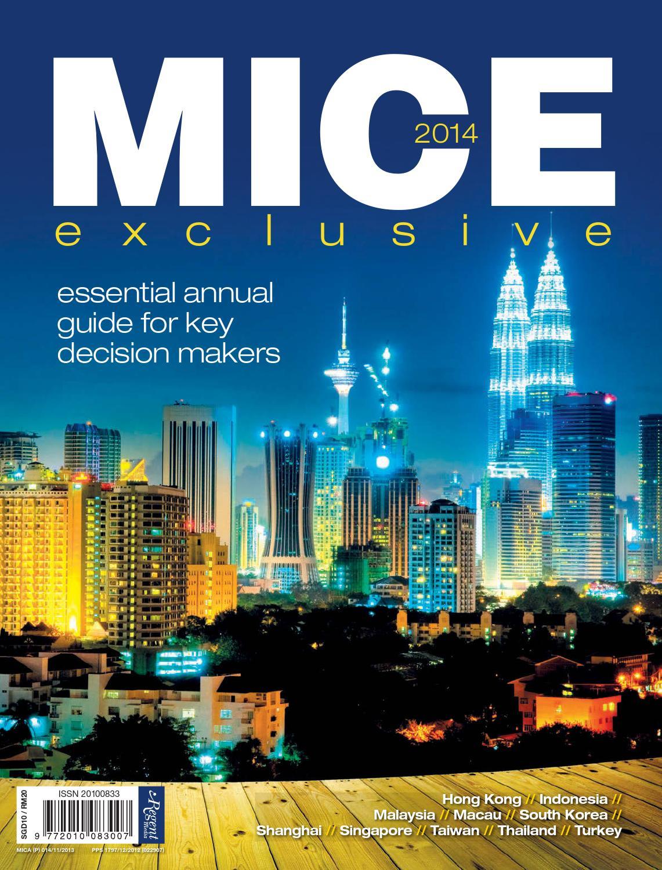 MICE exclusive 2014 by Regent Media Pte Ltd - issuu