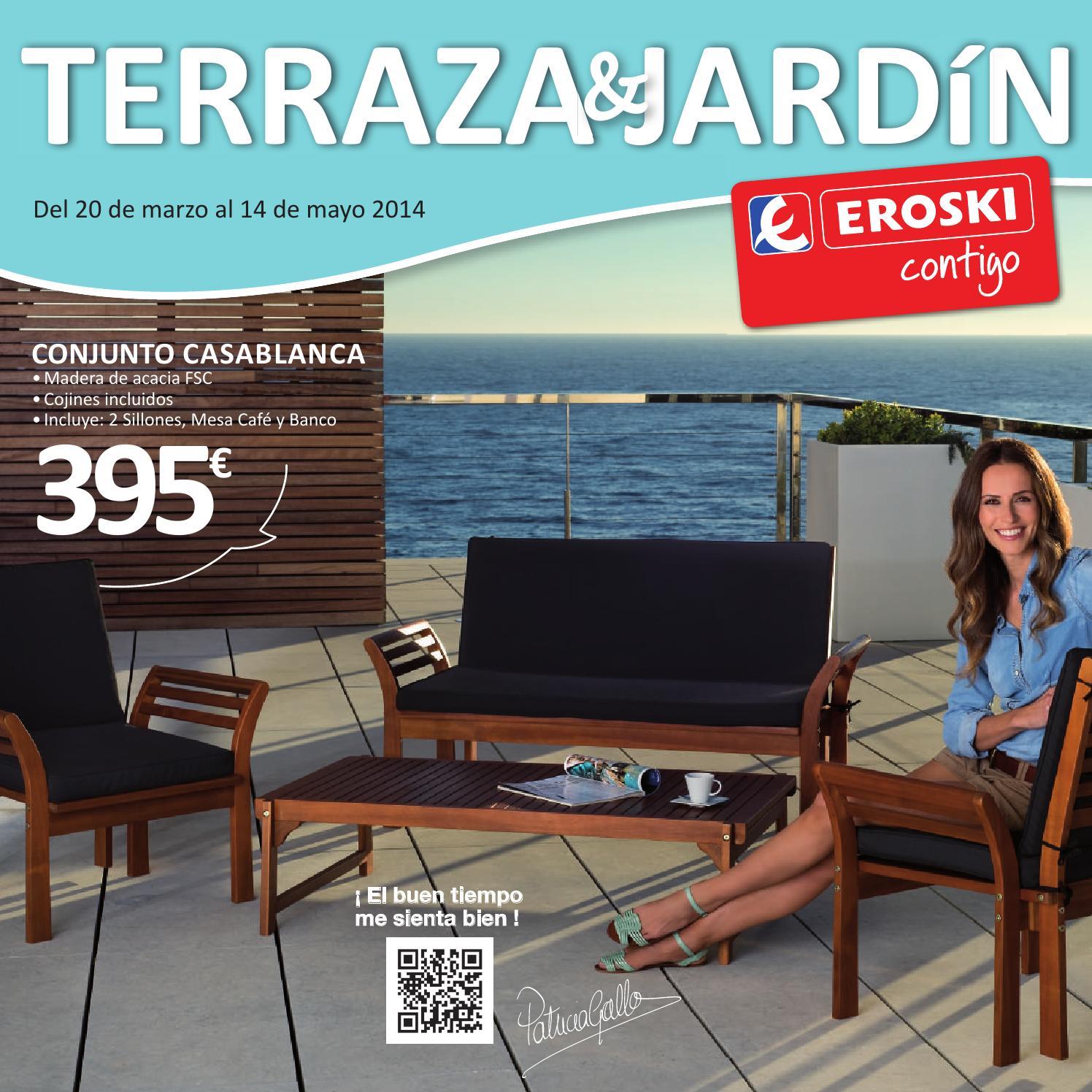 Eroski especial terraza y jardin del 20 de marzo al 14 de for Kfc terrazas de mayo