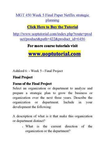 ashford 6 week 5 final paper