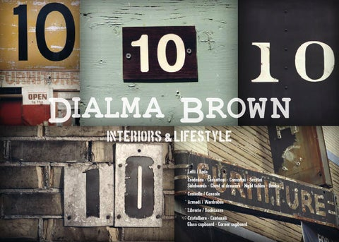 DIALMA BROWN by PAPAZOIS domus inclusive - issuu