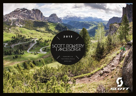 ecf2690fff1ef0 Katalog rowerów SCOTT 2013 by SCOTT POLSKA - issuu