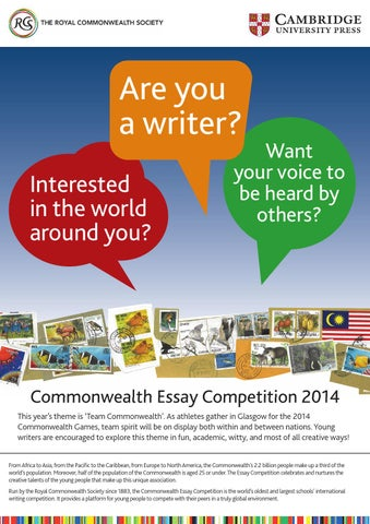 commonwealth essay competition