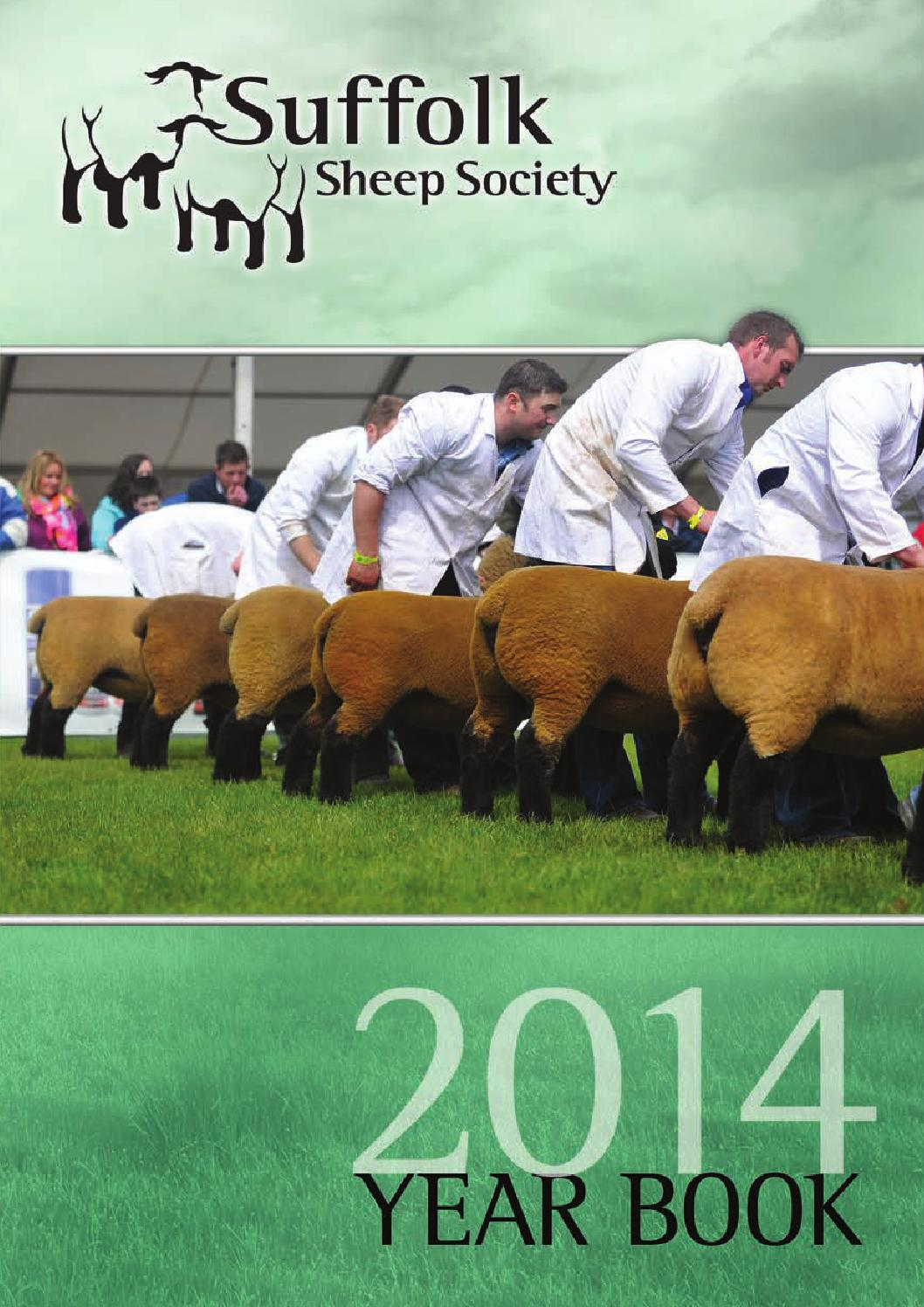 Suffolk Sheep Society Yearbook 2014 by Gale - issuu