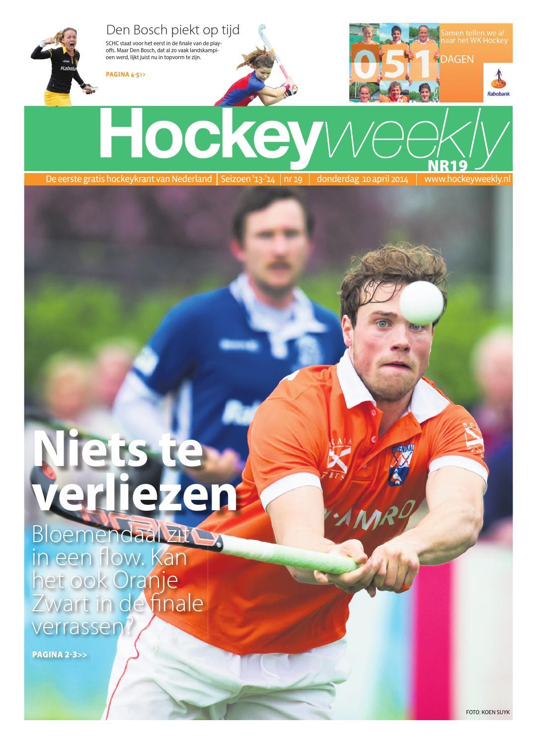 cb2391335cf Hockeyweekly 19 2013:2014 by TIG Sports - issuu