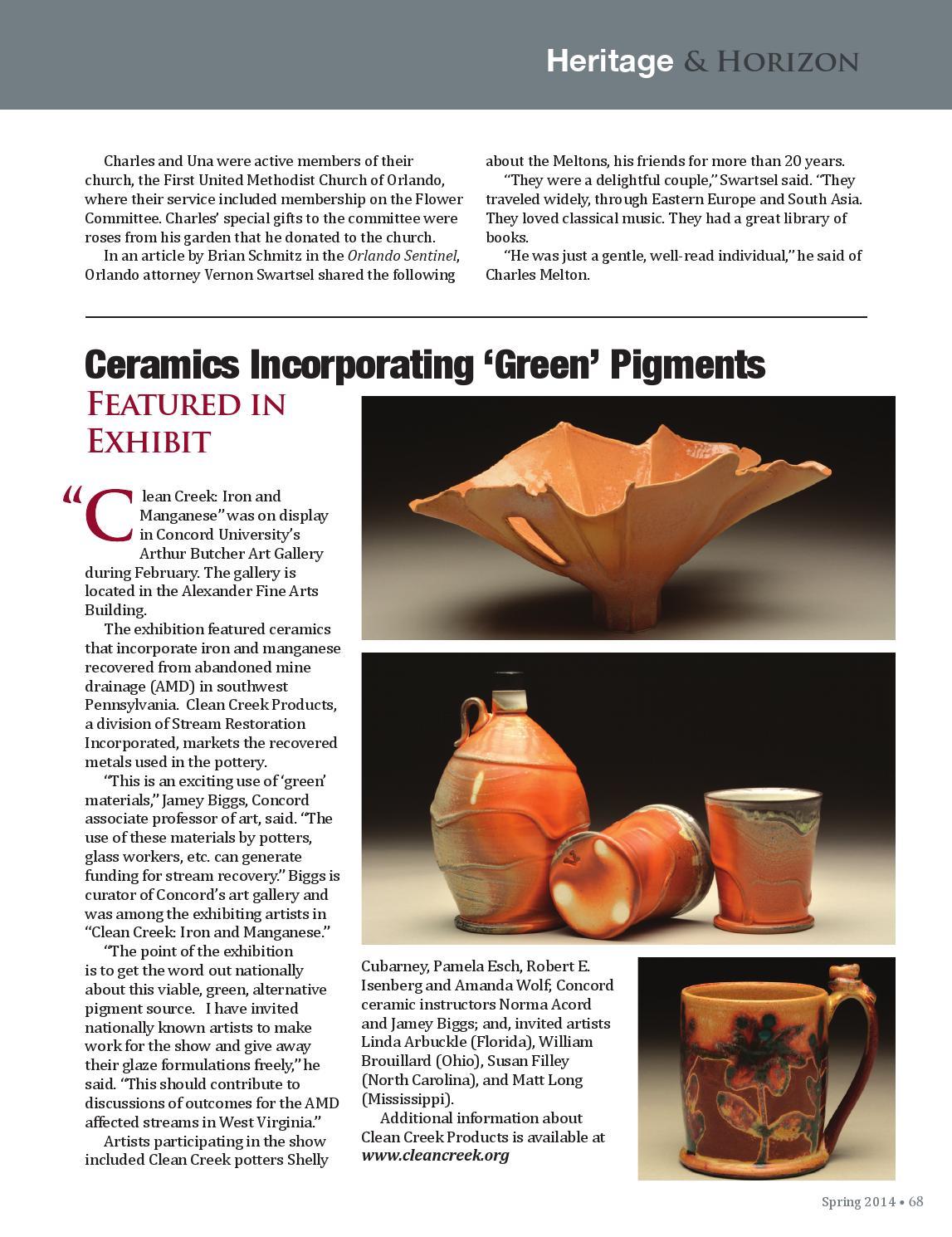 Spring 2014 Alumni Magazine By Concord University Issuu