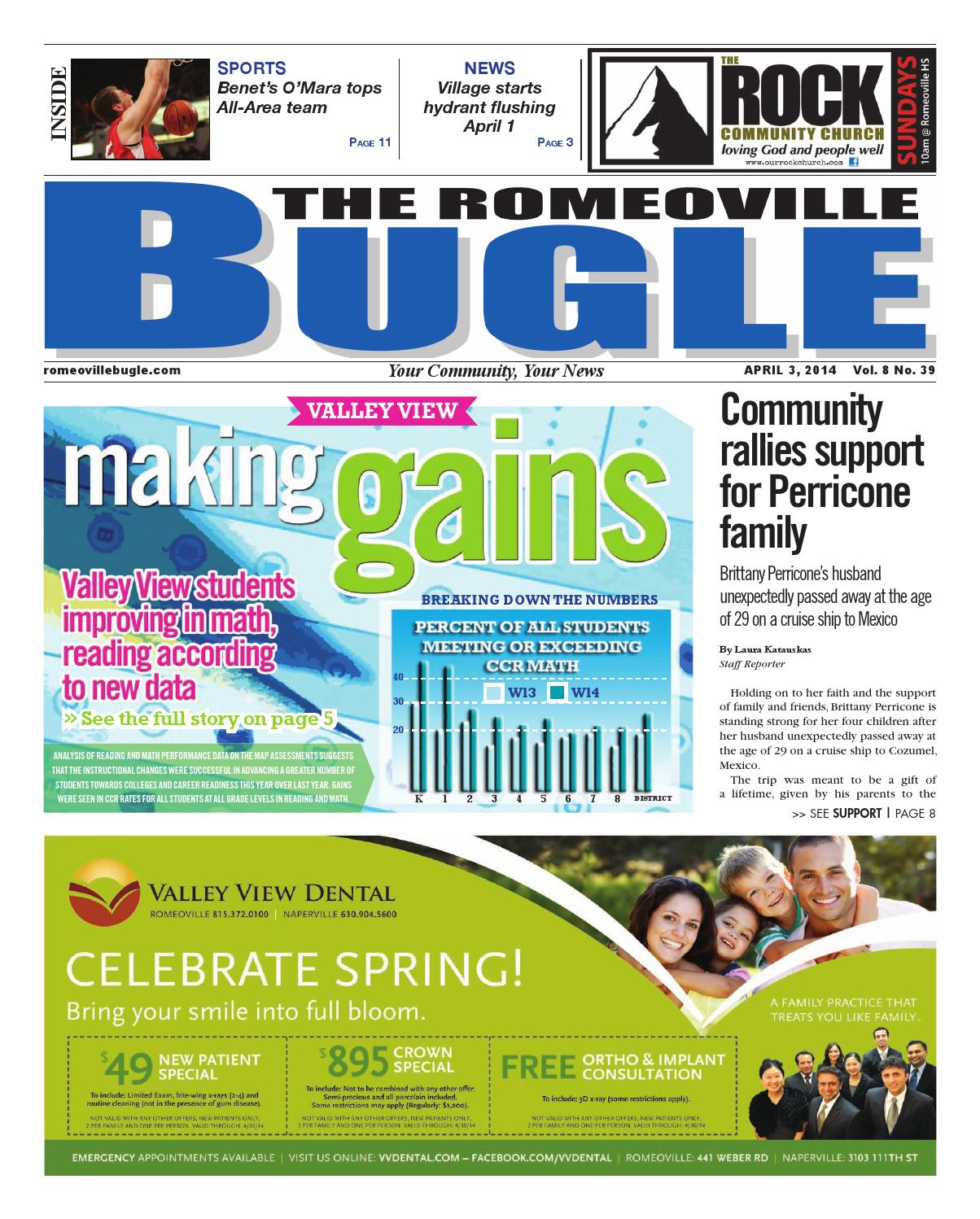 Romeoville 04-03-14 by Bugle, Sentinel & Enterprise Newspapers - issuu