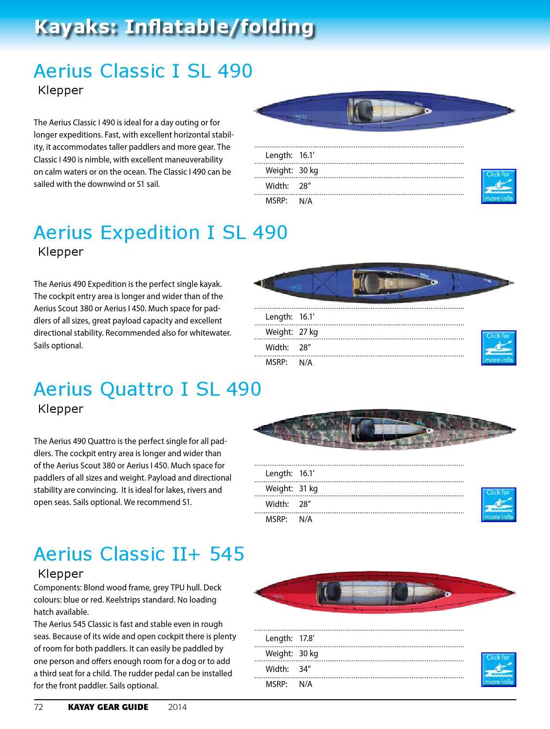 2014 Kayak Gear Guide by Wild Coast Publishing - issuu