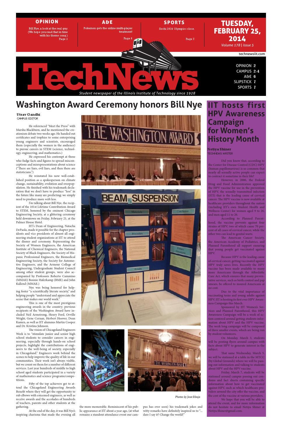 Volume 178, Issue 5 by TechNews - issuu