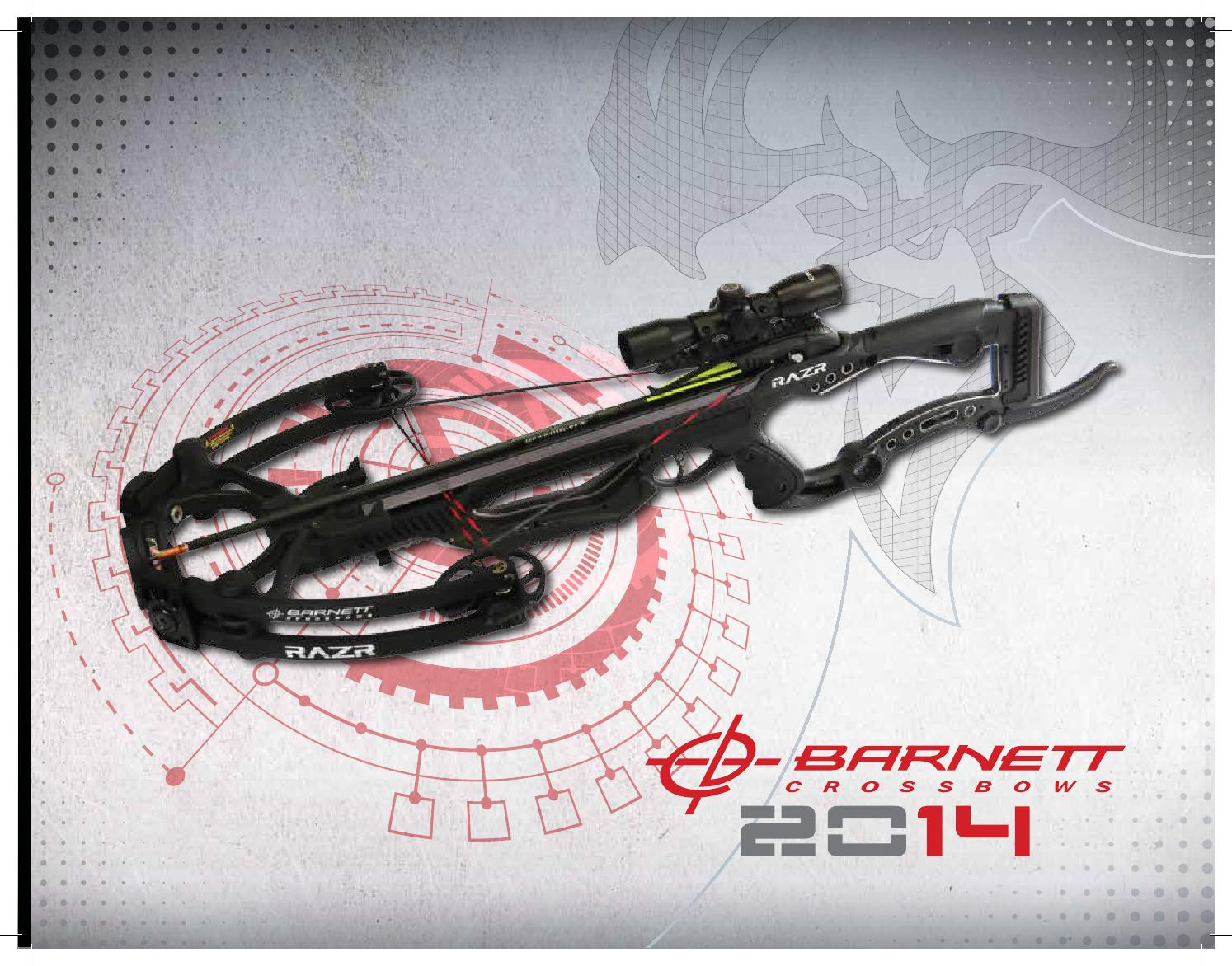 Barnett Crossbows 2014 Product Guide by PlanoSynergy - issuu
