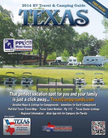 2014 Texas RV Travel & Camping Guide by AGS/Texas