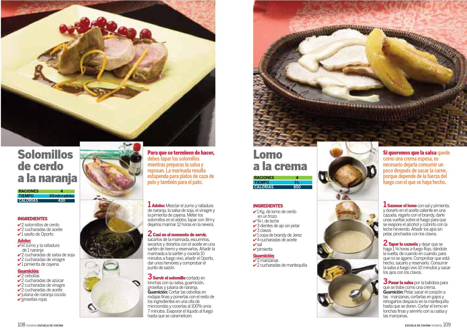Coleccionable escuela de cocina by pamela gonzalez issuu - Cayena escuela de cocina ...