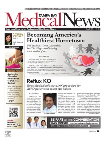 Tampa Bay Medical News April 2014 by FW Publishing - issuu