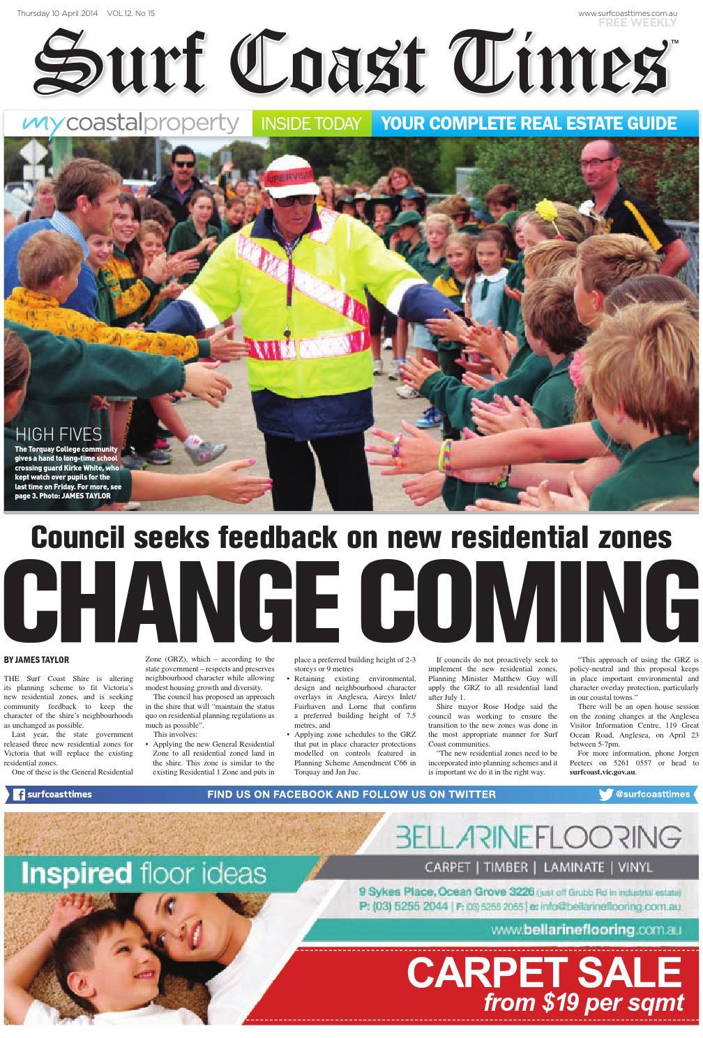 Surf Coast Times April 10, 10 by Surf Coast News Australia Pty ...