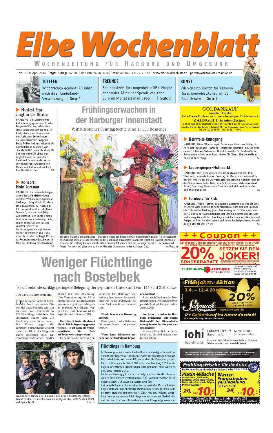 Harburg KW15-2014 by Elbe Wochenblatt Verlagsgesellschaft mbH & Co ...