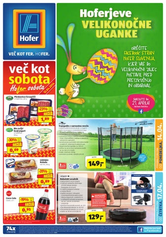5938987090a Hofer katalog od 14. 4. in od 17. 4. 2014 by Vsikatalogi.si - issuu
