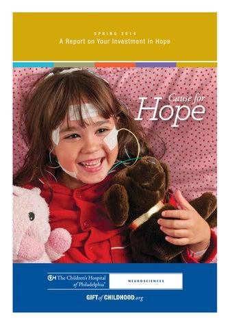 Neurology Stewardship Report by The Children's Hospital of
