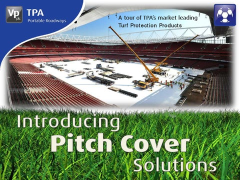 Tpa Plastic Pitch Cover Presentation By Tpa Access
