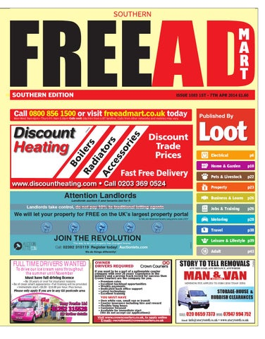 Free ad mart southern 1st april 2014 by loot issuu page 1 fandeluxe Image collections