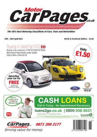 Motor Car Pages North & Scotland 10th April 2014 by Loot issuu