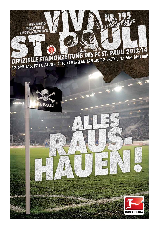 FC Köln Programm 2012//13 1 FC St Pauli // FSV Frankfurt