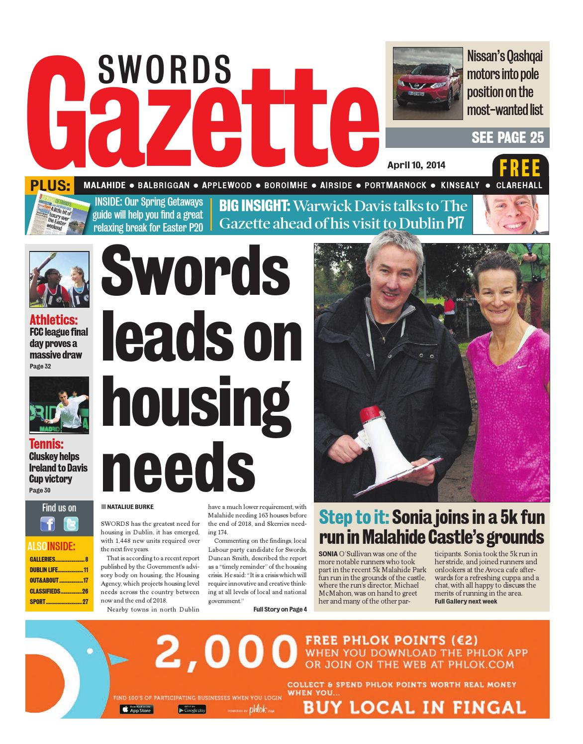 Swords by Dublin Gazette - issuu b73985082a349