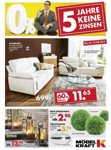 M bel kraft mitmusterring by catalogofree issuu for Wohnlandschaft 600 euro